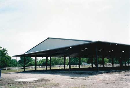 Metal Arenas for Equestrian Centers