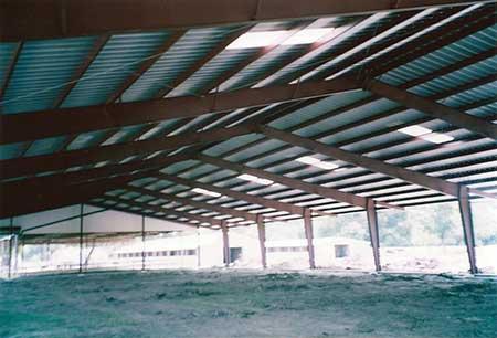 Metal Arenas for Equestrian Centers